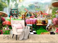 Фотообои Алиса в стране чудес - 4