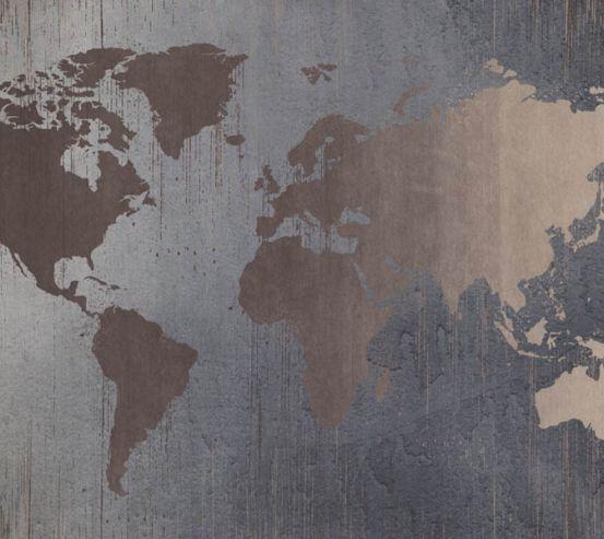 Фотошпалери Текстурная коричнева карта  27627