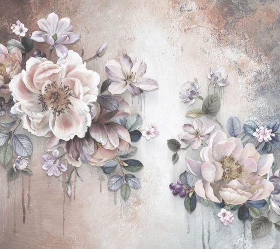 Фотошпалери дизайнерські квіти 28813