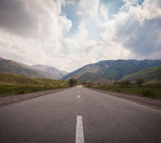 Фотошпалери Дорога в горах 23151