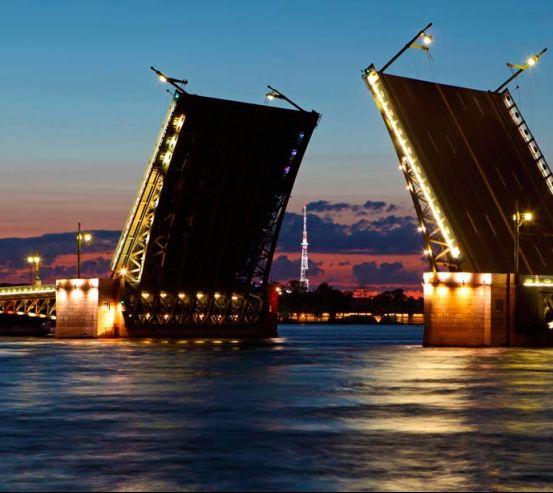 Фотообои Мост в Санкт-Петербурге 0160