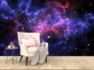 Фотообои сияние звёзд в космосе - 4