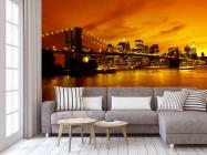 Фотообои Ночной мост Бруклина - 3