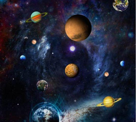 Фотообои Планеты космос 29028