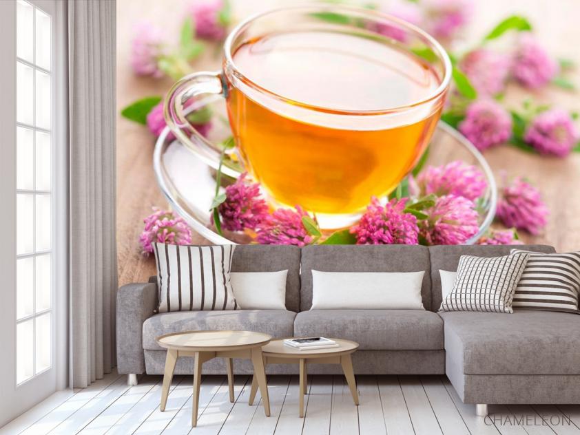 Фотообои Чай, клевер - 3