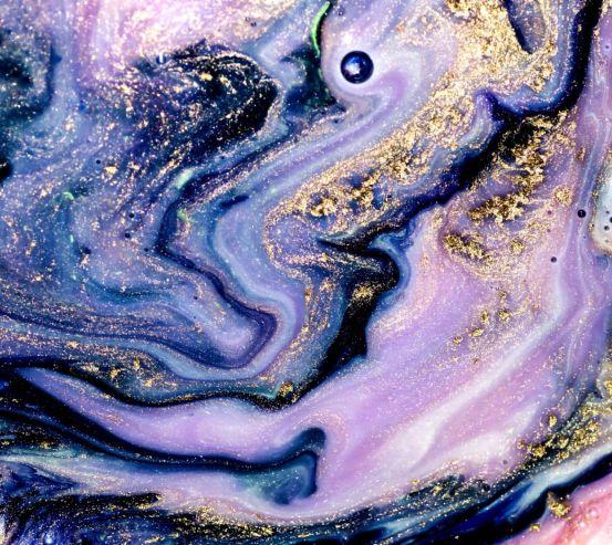 Фотообои Фиолетовый Fluid art 25258