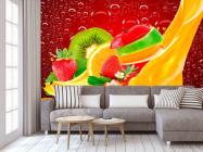 Фотообои Нарезанные фрукты, ягоды - 3
