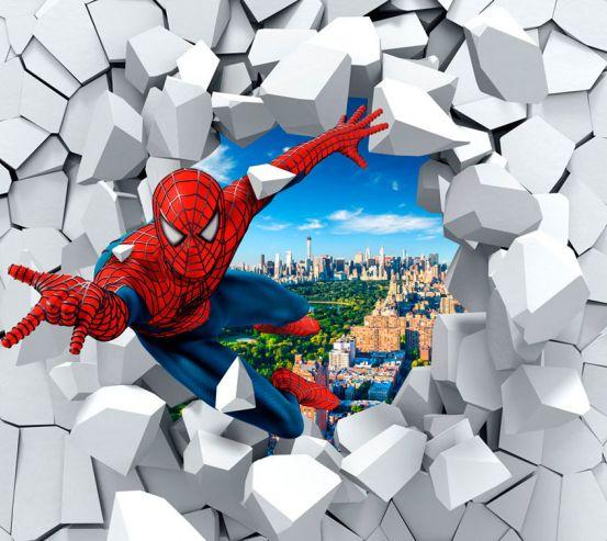 Фотообои Человек паук 3Д 20067