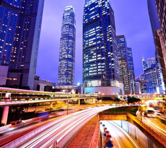 Фотообои Дорога в сердце Шанхая 11288