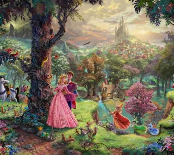 Фотообои Волшебный лес 8344