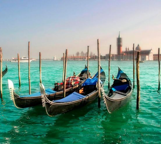 Фотообои Гондолы, Венеция 3443