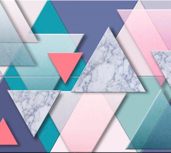 Фотообои Треугольники 19876