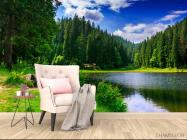 Фотообои озеро и лес - 4