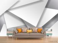 Фотообои 3д треугольники - 1