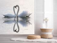 Фотообои Два лебедя - 2