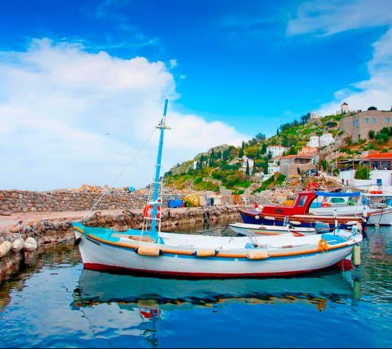 Човни на Грецьких островах 5067