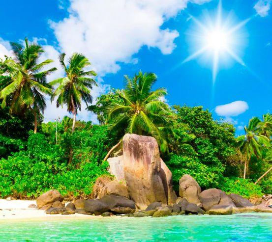 Фотообои На острове полдень 3441