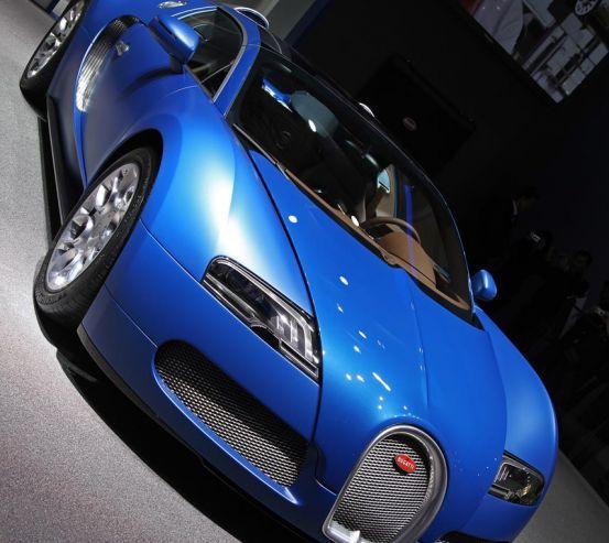 Фотообои синий Bugatti Veyron 20373