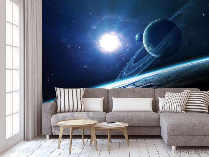 Фотообои планеты и сияние - 3
