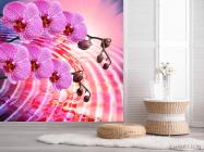 Фотообои Сиреневые распустившиеся орхидеи - 2