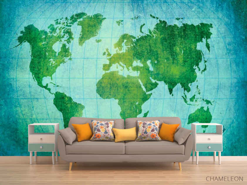 Фотообои Материки Земного шара - 1