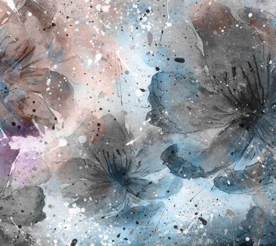 Фотошпалери Абстрактні квіти 24359