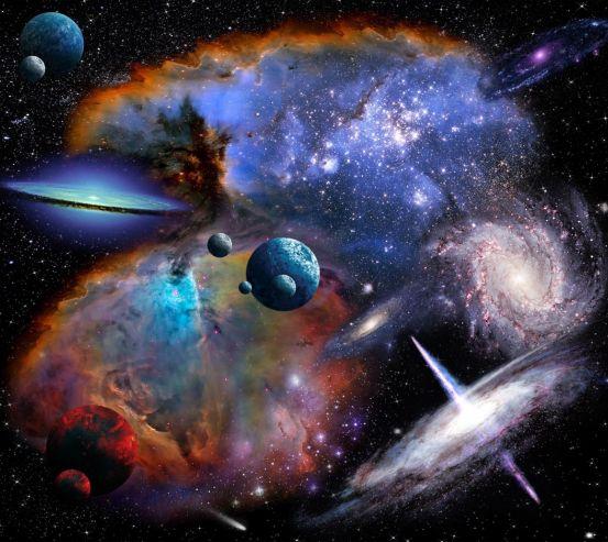 Фотообои галактики 20744