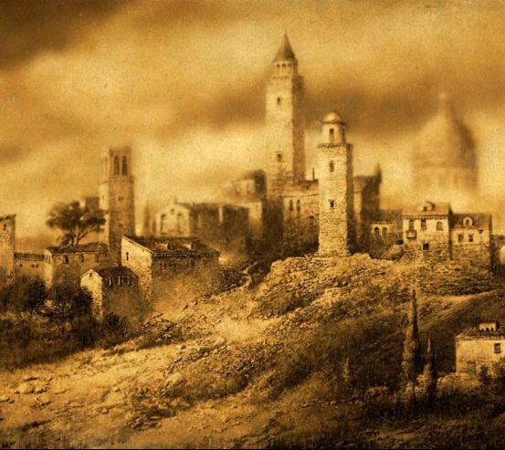 Фотообои Старинный город 0318