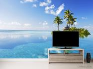Фотообои остров в чистом океане - 2