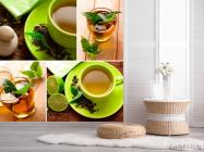 Фотообои Зелёный чай - 2