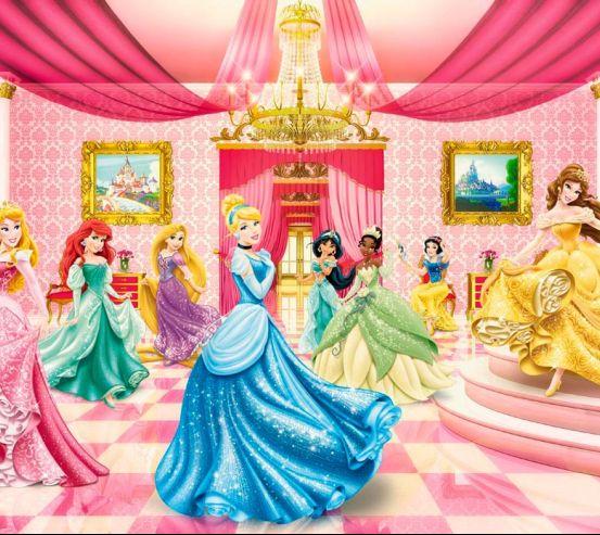 Фотообои Принцессы в замке 15869