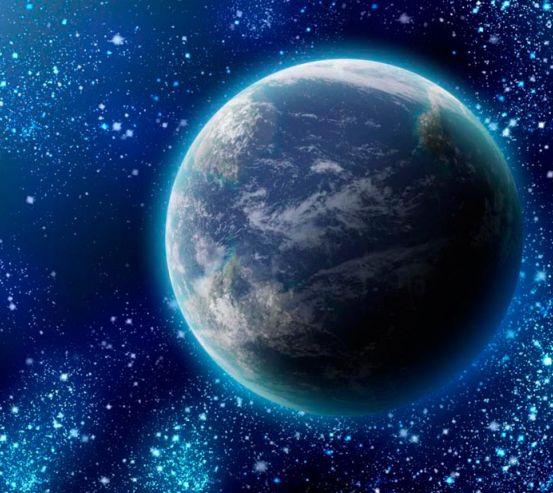 Фотообои Земля и звезды 0777