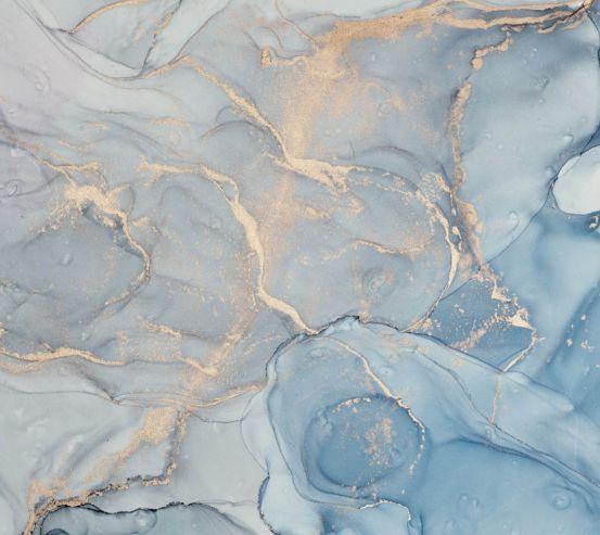 Фотообои Fluid art голубой 27455