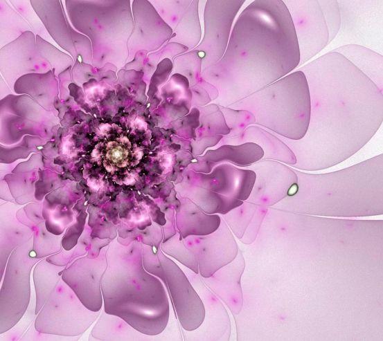 Фотообои Синеревый цветок 3078