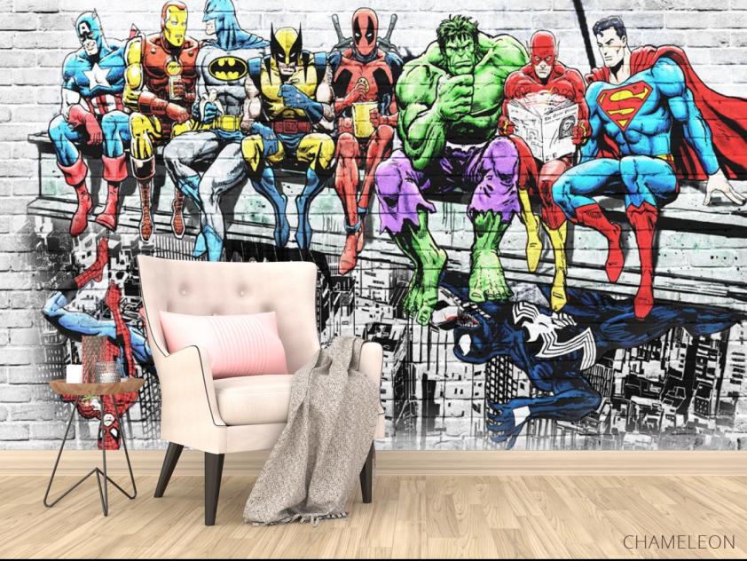Фотообои Супергерои - 4