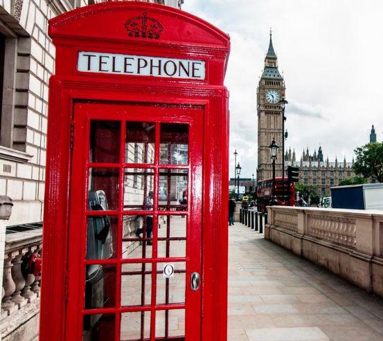 Фотообои Телефонная будка, Лондон 11862