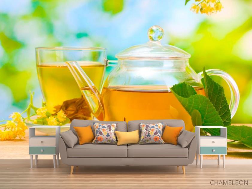 Фотообои Чай, липа - 1