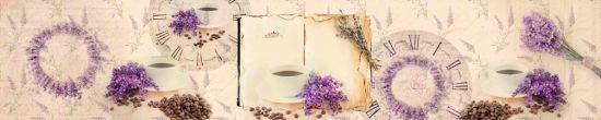 Фотообои в кухню Кофе, цветы