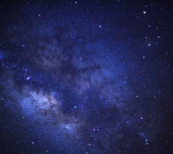 Фотообои Ночное звёздное небо 26598