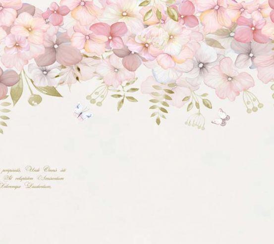 Фотообои Цветы под потолком 22426