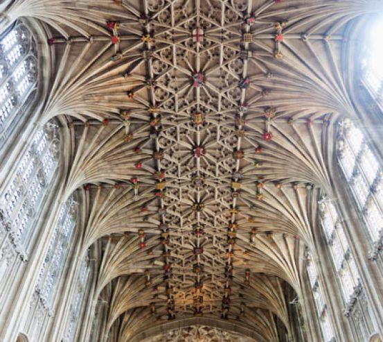 Фотообои Потолок в соборе 22600