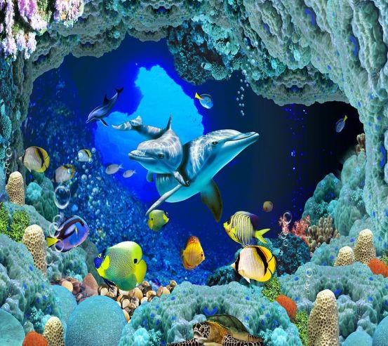Фотообои Сказочный подводный мир 19968