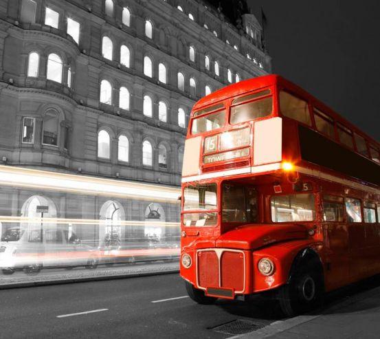 Фотообои Автобус в лондоне 10132