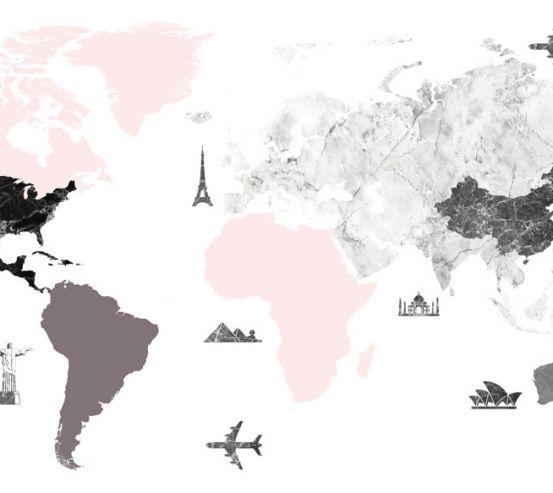 Фотошпалери Карта для мандрівників 23035