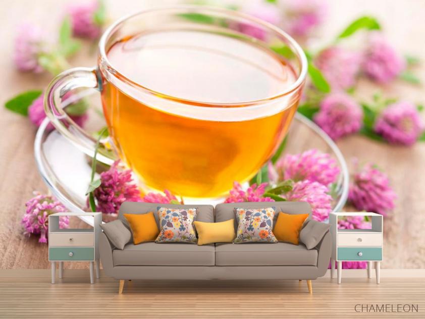 Фотообои Чай, клевер - 1