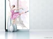 Фотообои Балерина для детской - 1