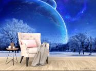 Фотообои Зимний космос - 4