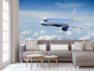 Фотообои самолёт в небе - 3