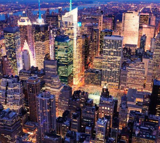 Фотообои Город Гонконг с высоты 9959