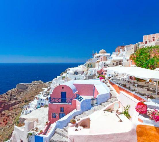 Фотообои о. Санторини, Греция 10626